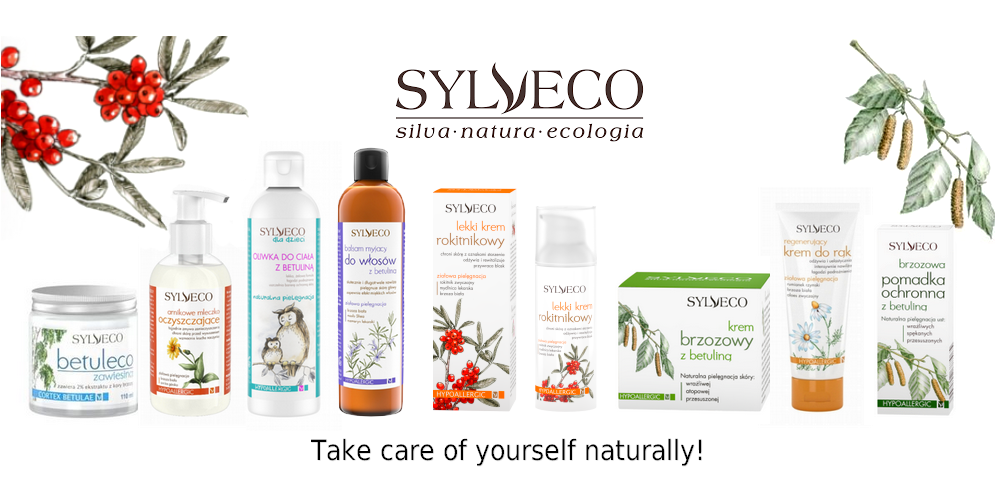Organic cosmetics straight from the nature SYLVECO now in herbio.co.uk