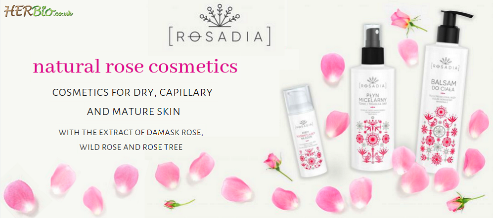 [NEW IN!] NATURAL COSMETICS WITH ROSE EXTRACT NOW IN HERBIO.CO.UK!
