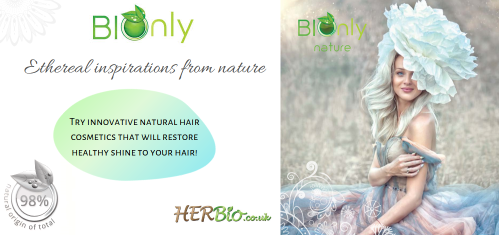 BIOONLY! NATURAL HAIR COSMETICS IN HERBIO.CO.UK