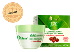 Ava - Eco Garden 40+ - Certifed organic CREAM with TOMATO extract for all skin type 50ml 1326