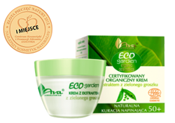 Ava - Eco Garden 50+ - Certifed organic CREAM with GREEN PEAS extract for all skin type 50ml 1319