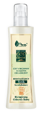 Ava - Eco Linea - Revitalizing non alcohol LOTION for all skin types 200ml 0800