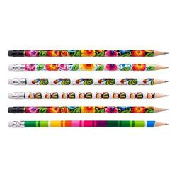 Folkstar -  SET: FOLK PENCIL 6 PCS 13510
