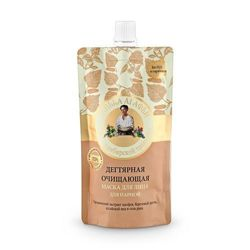 Granny Agafia's Recipes - Cleansing face MASK with TAR 100ml 4630007831220