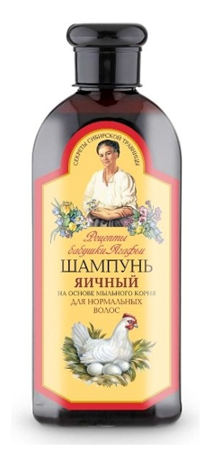 Granny Agafia's Recipes - EGG SHAMPOO for normal hair 350ml 4744183014046