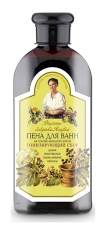 Granny Agafia's Recipes - Herbal BATH foam tonning 500ml 4744183013995