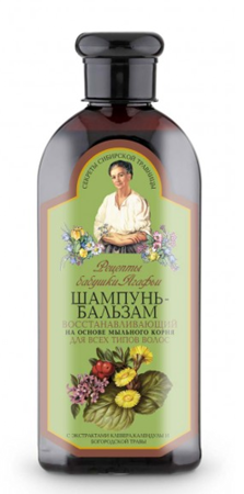 Granny Agafia's Recipes - Renegerating SHAMPOO-BALM for all hair type 350ml 4744183014121