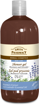 Green Pharmacy - Showe Gel ROSEMARY & LAVENDER 500 ml 5904567051213