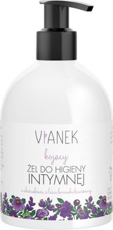 Vianek - Soothing Series - Soothing gel for intimate hygiene with extract from leaves of lingonberry (Kojący żel do HIGIENY INTYMNEJ) 300ml 0015
